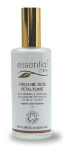 Essential Care Organic Rose Petal Tonic
