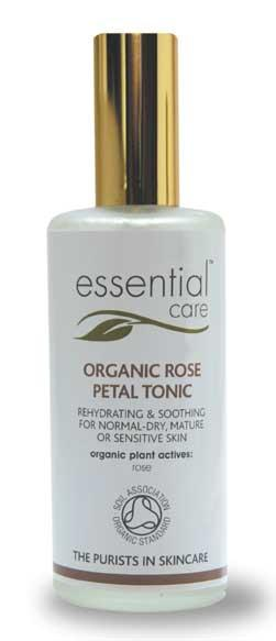 Essential Care Organic Rose Petal Tonic
