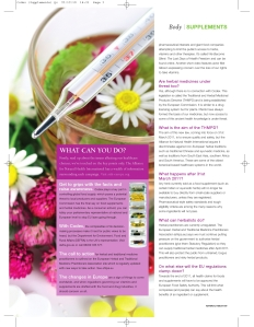 Natural Health magazine, Future of Supplements Feb'11