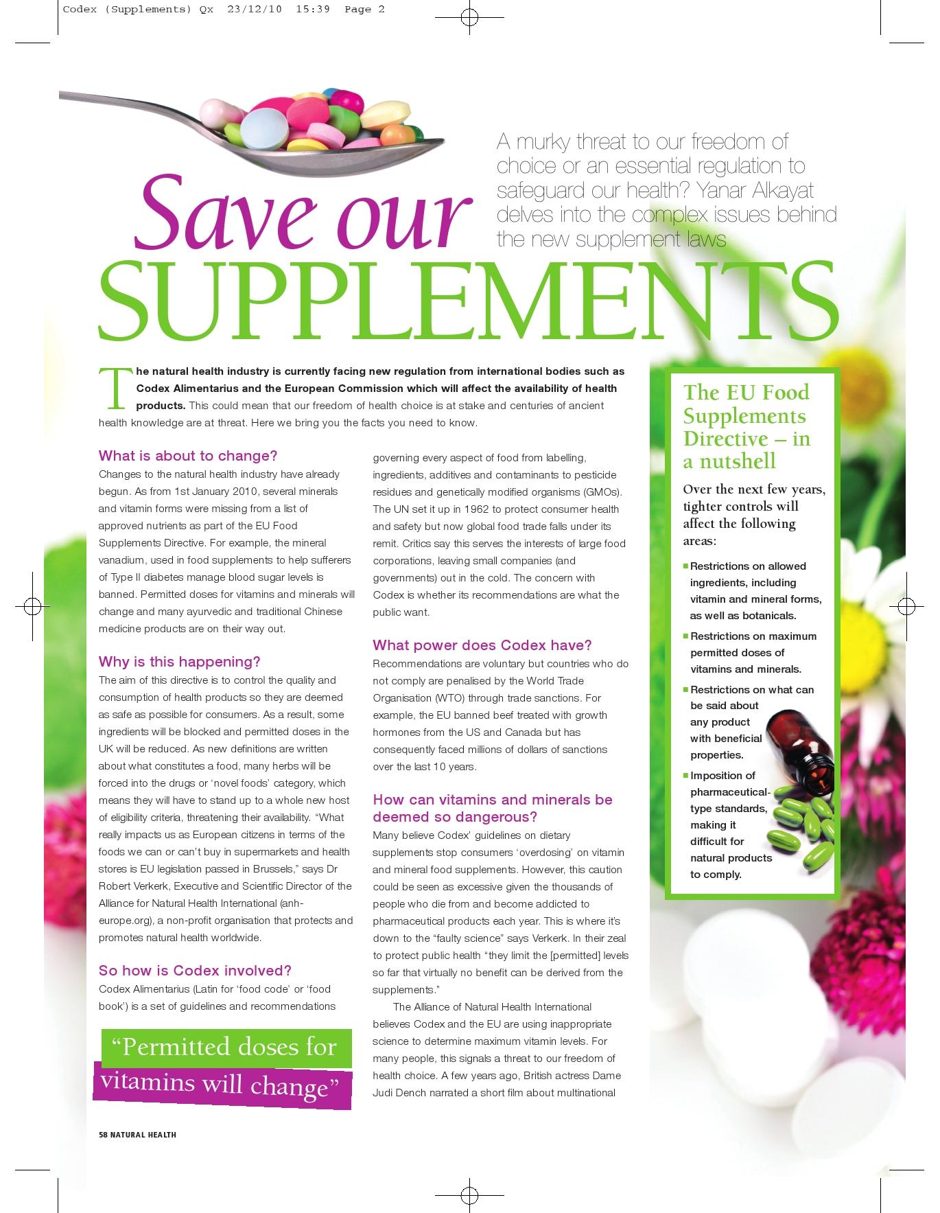 health article magazine