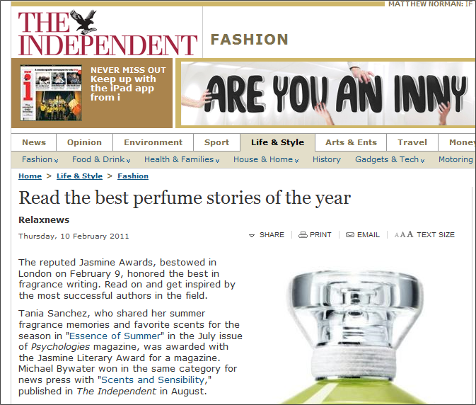 Independent Jasmine Awards