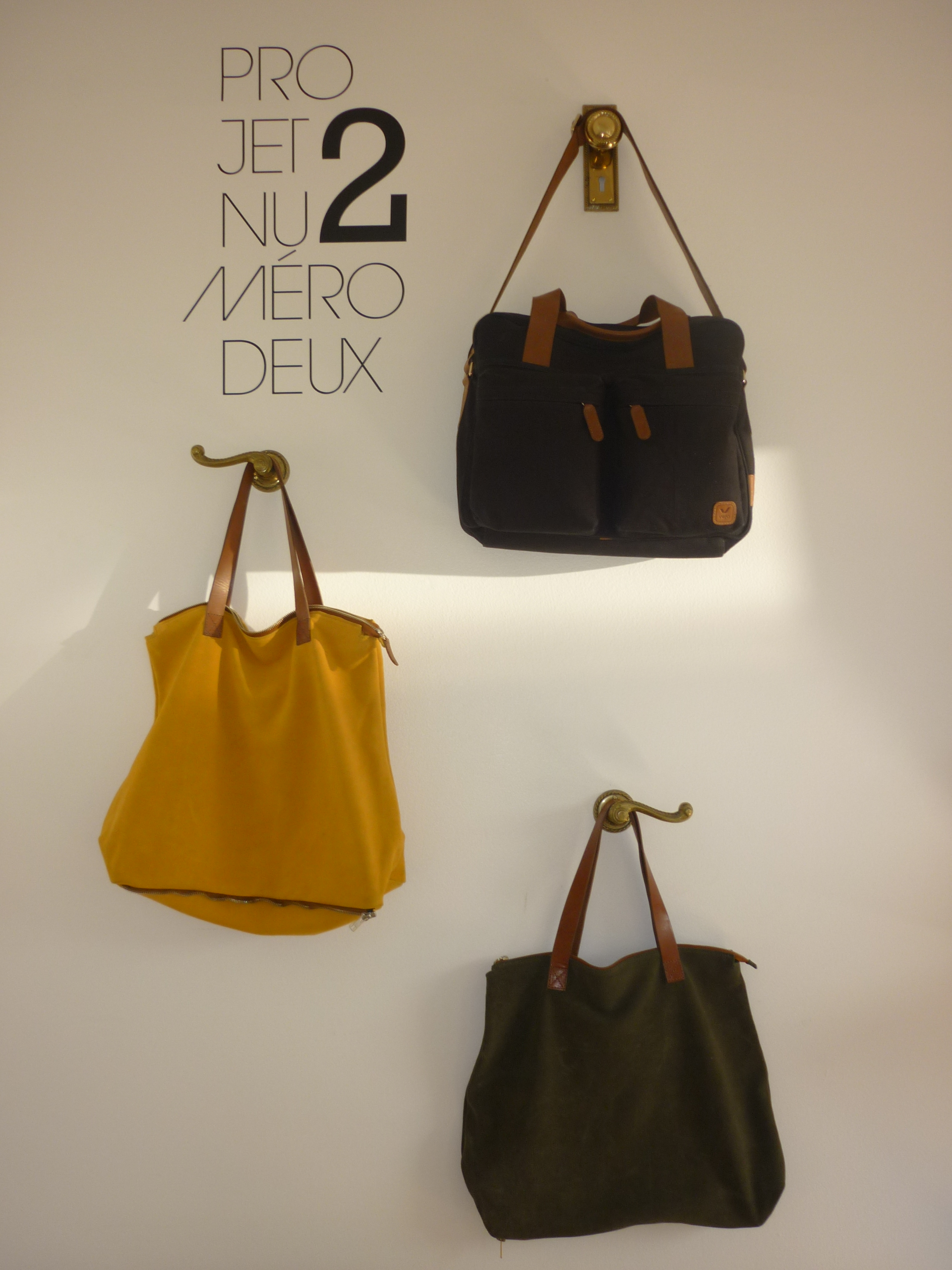 Yummy bags made with naturally dyed suede by Veja
