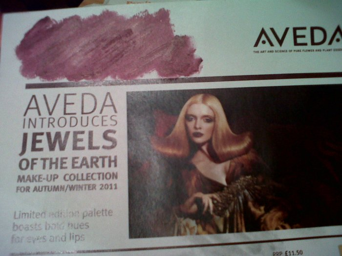 Aveda Smoothing Lip Color in Tanzanite
