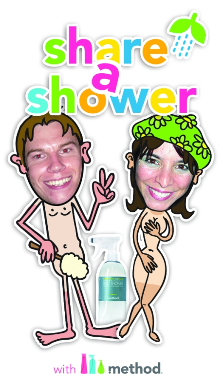 share a shower campaign by method