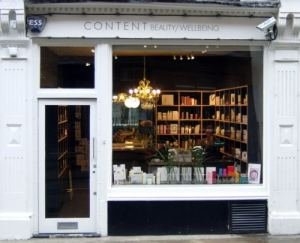 Content beauty boutique