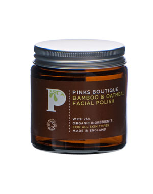 Pinks Boutique Bamboo and Oatmeal Facial Polish