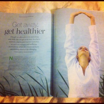 Psychologies March issue retreats