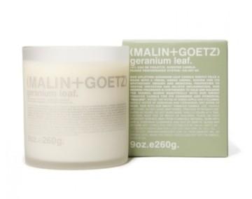 Malin+Goetz Geranium Leaf candle