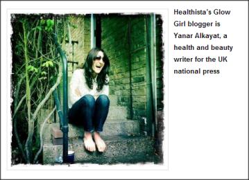 Healthista.com Yanar Alkayat Glow Girl