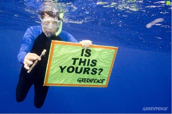 Plastics greenpeace campaign