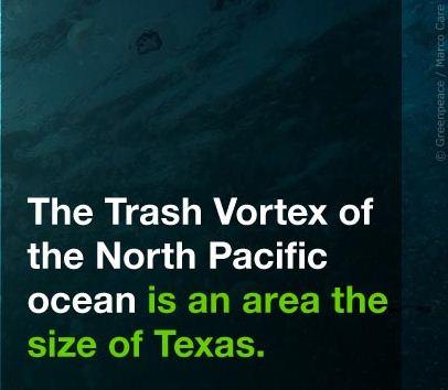 The plastic vortex greenpeace environment campaign