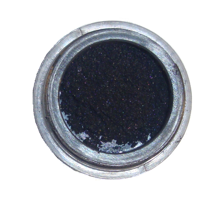 Bohemian Chic Minerals Eyeliner Sambuca on Brightershadeofgreen