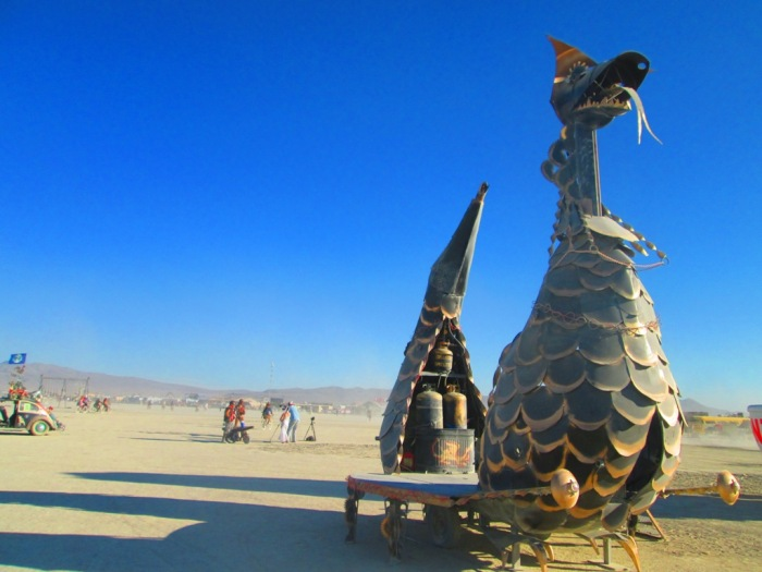 Burning Man 2012 Dragon Car