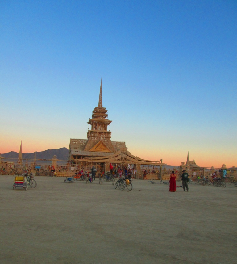 Burning Man 2012 The Temple