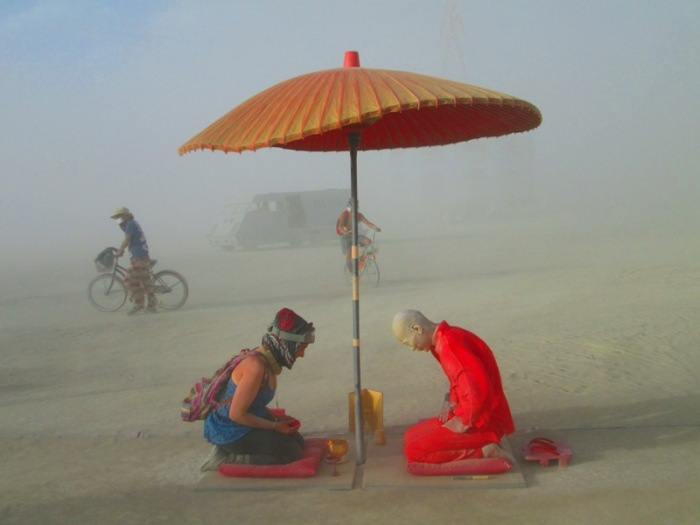 Burning Man Japanese Tea Ceremony 2012