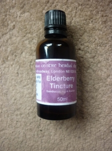 Elderberry Tincture - How to cure a cold