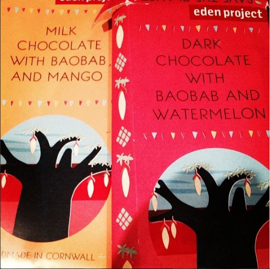 Eden Project Chocolate with Baobab