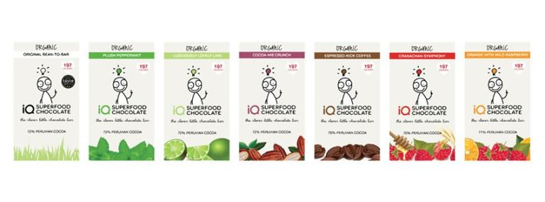 IQ Chocolate - Stocking Filler #4 on Brighter Shade of Green
