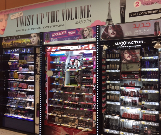 Beauty in Erbil, Iraq - Bourjois, Rimmel, Maxfactor