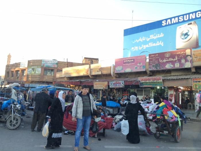 Erbil Citadel town life, Iraq, Kurdistan