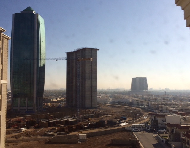 Erbil, Kurdistan, Iraq is a boom town