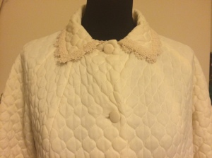 1960s cream jacket from Anchors Aweigh Vintage with beautiful embroidered collar