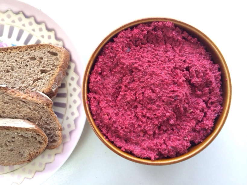 how to make raw beetroot dip on brighter shade of green blog.jpg