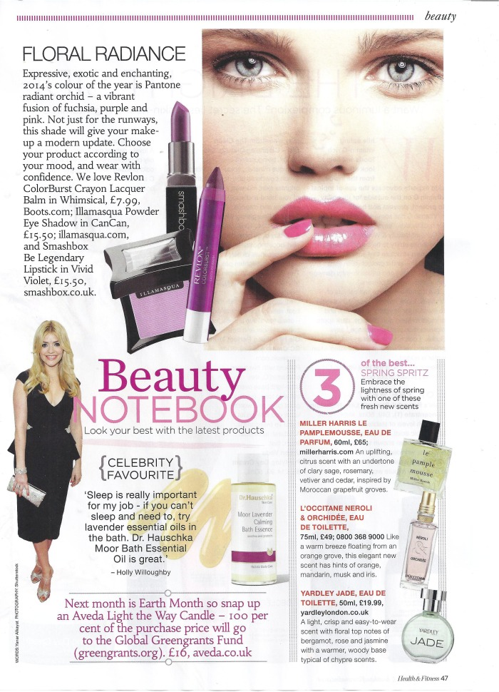 Health and Fitness, Beauty News April 2014  by Yanar Alkayat
