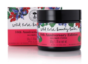 NYR Wild Rose Beauty Balm 10th Limited Edition on Brighter Shade of Green