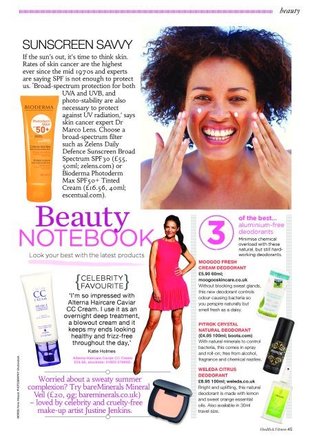 Health and Fitness, Beauty News June 2014 Yanar Alkayat