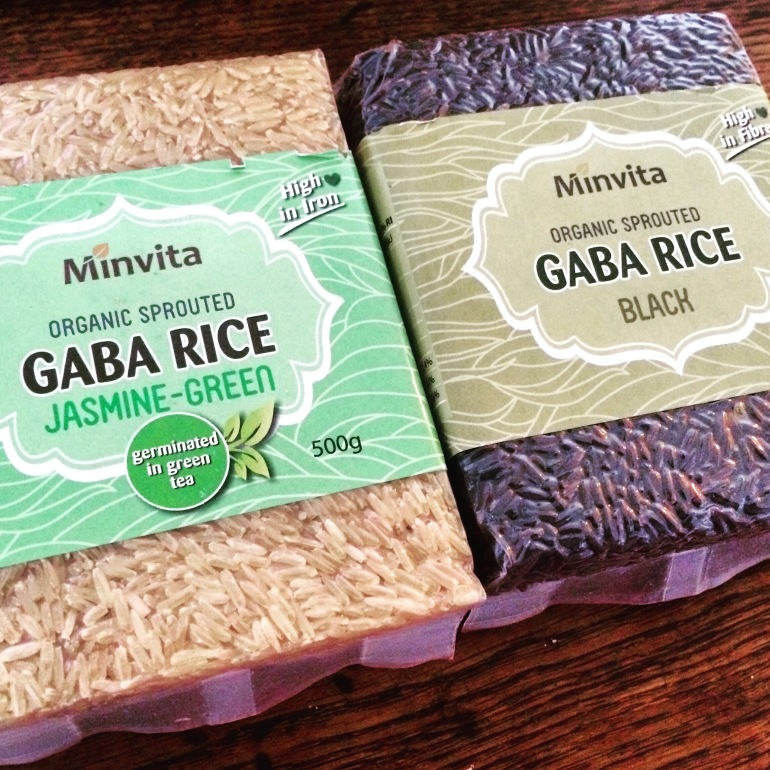 gaba rice jasmine green and black