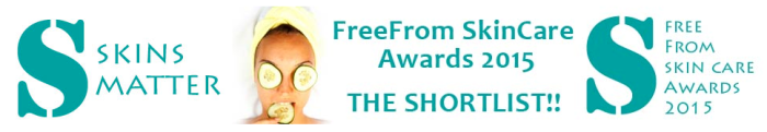 freefrom skincare awards 2015 shortlist