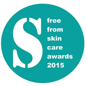 FreeFrom Skincare awards2015