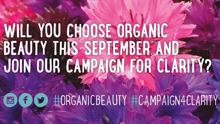 soil association's organic beauty week part of organic september