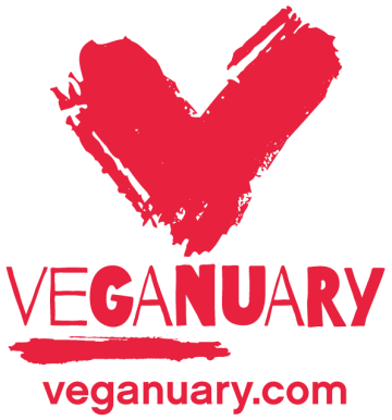 veganuary Logo-how to stick to veganuary