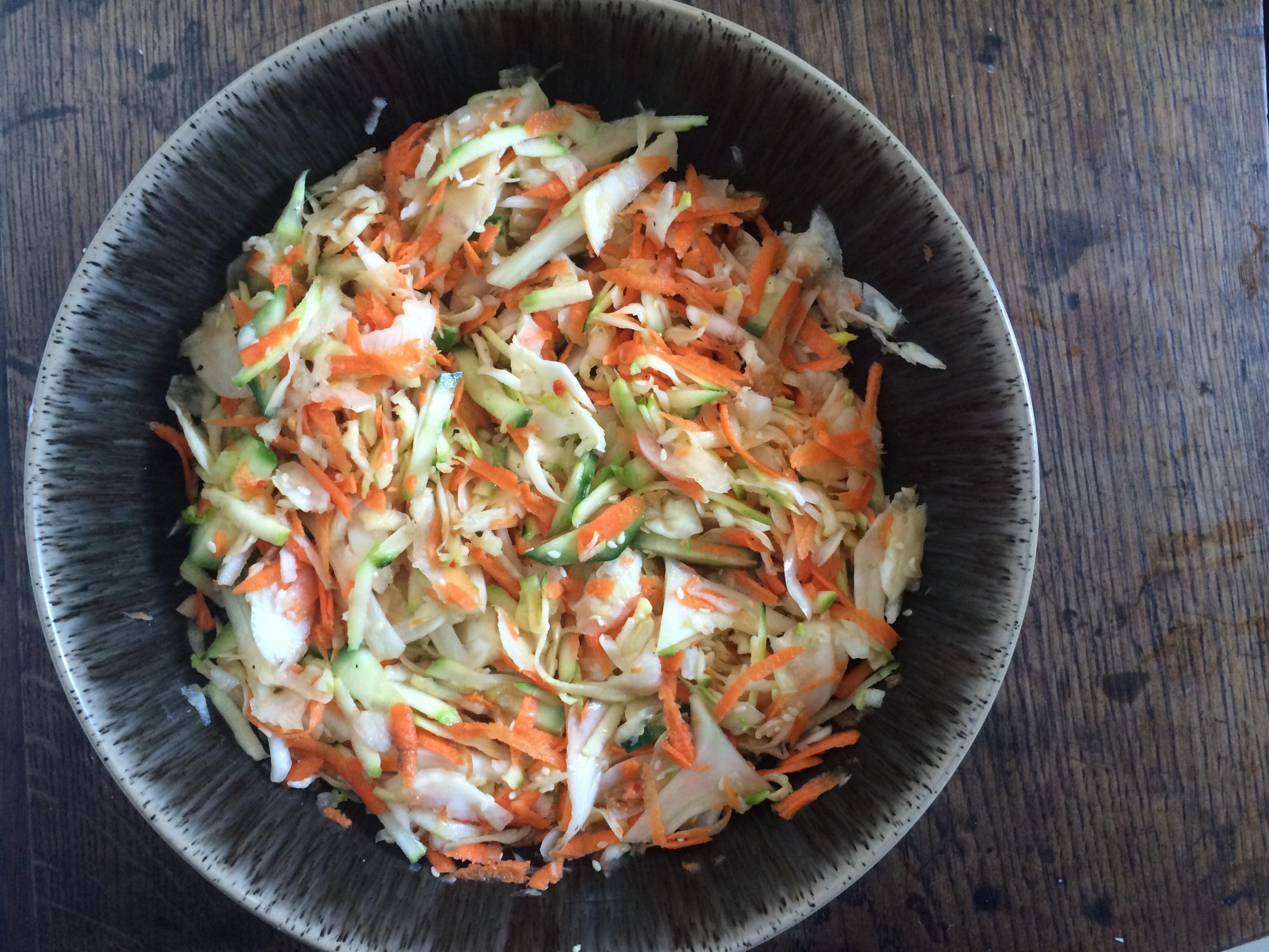 fresh fennel carrot salad  recipe