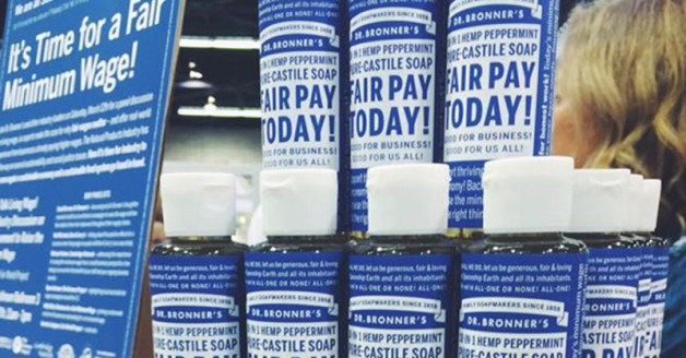 dr bronners campaigning fair pay