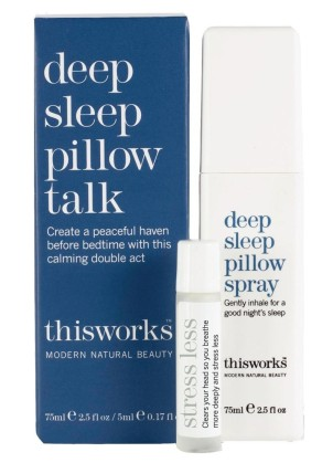 best natural sleep products This Works Deep Sleep Pillow Spray