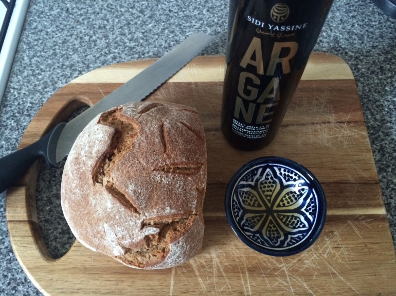 how fairtrade organic culinary argan oil bread is made in morocco weleda