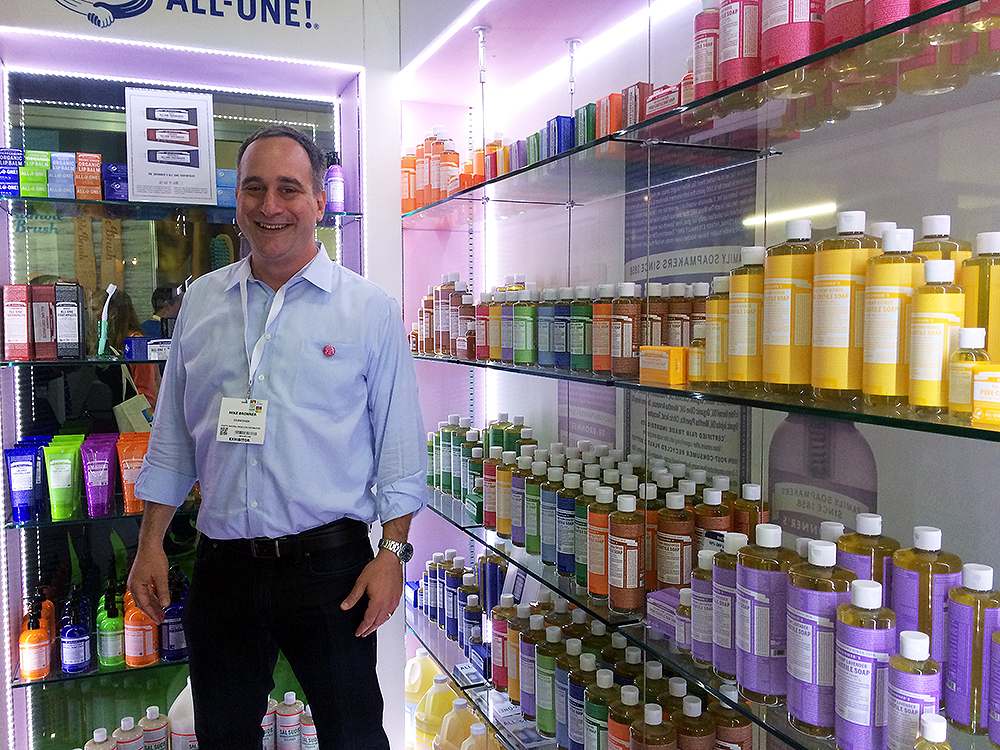 mike-bronner-at-natural-products-show-london