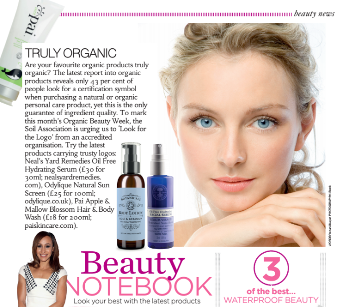 organic beauty week 2016 health & fitness magazine
