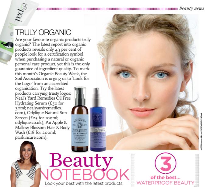organic beauty week 2016 health & fitness magazine