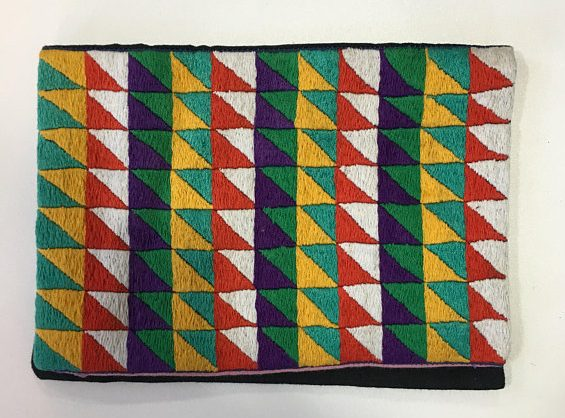 Handmade ethical embroidered Kindle Case madagascar ethical gifts