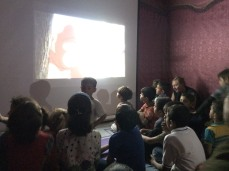 lebanon refugee camps volunteering salam childrens cinema