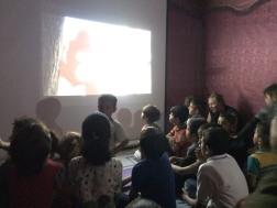 lebanon refugee camps volunteering salam childrens cinema