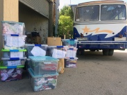 lebanon refugee camps volunteering salam ladec delivering supplies