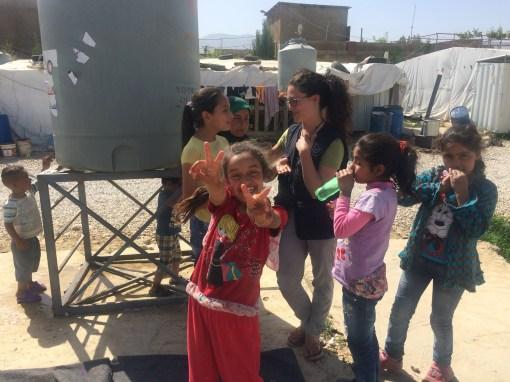 lebanon refugee camps volunteering salam settlement activities
