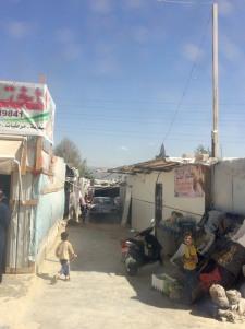 lebanon refugee camps volunteering salam settlement life