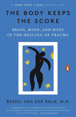 bessel van der kolk the body keeps the score book
