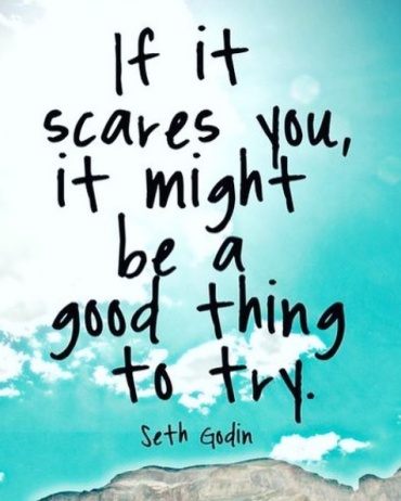 If it scares you quote seth godin
